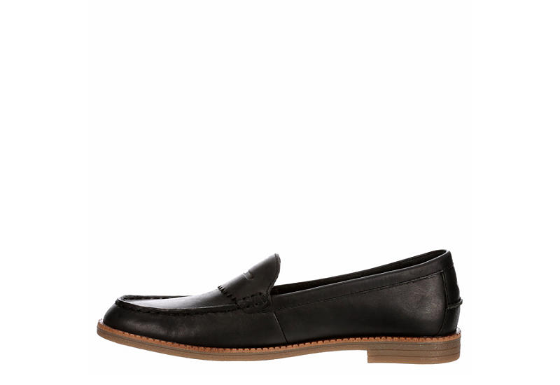 SPERRY Womens Waypoint Penny Loafer - BLACK