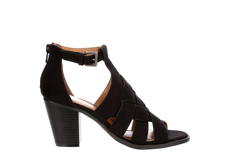 L4L Womens Zink Dress Heel - BLACK
