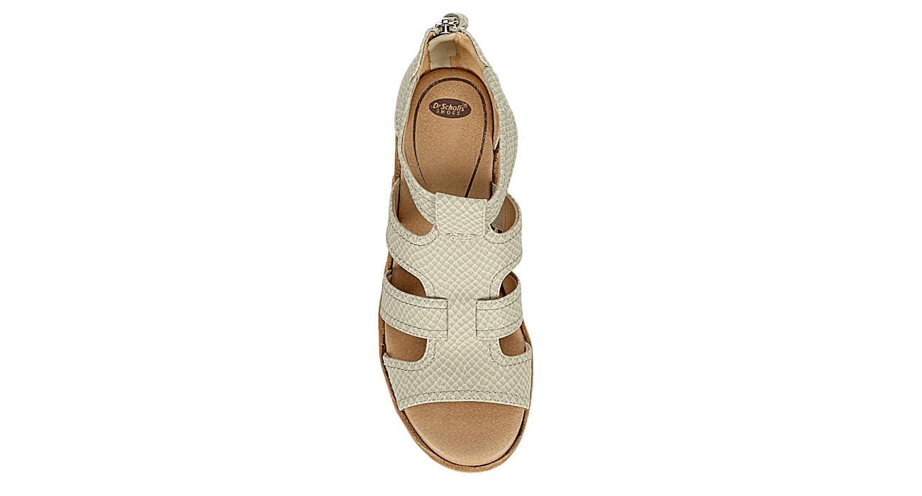 DR. SCHOLL'S Womens Long Island Sandal - OFF WHITE