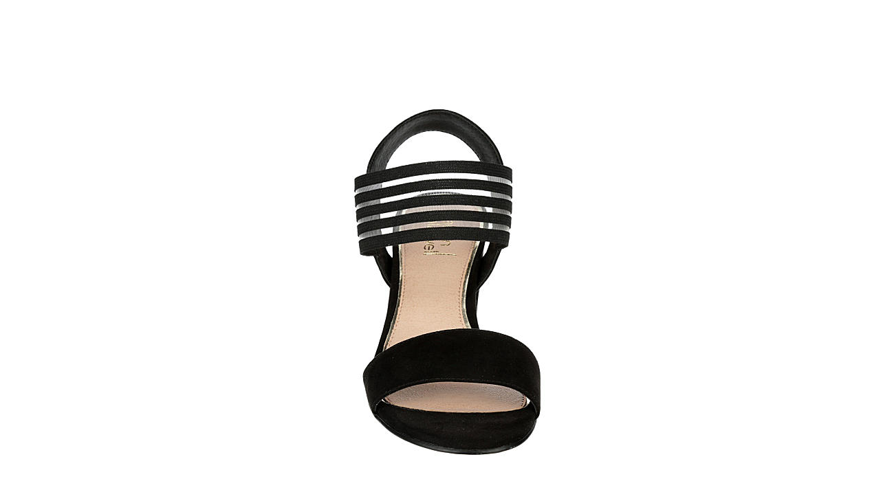 LAUREN BLAKWELL Womens Hannah Dress Sandal - BLACK