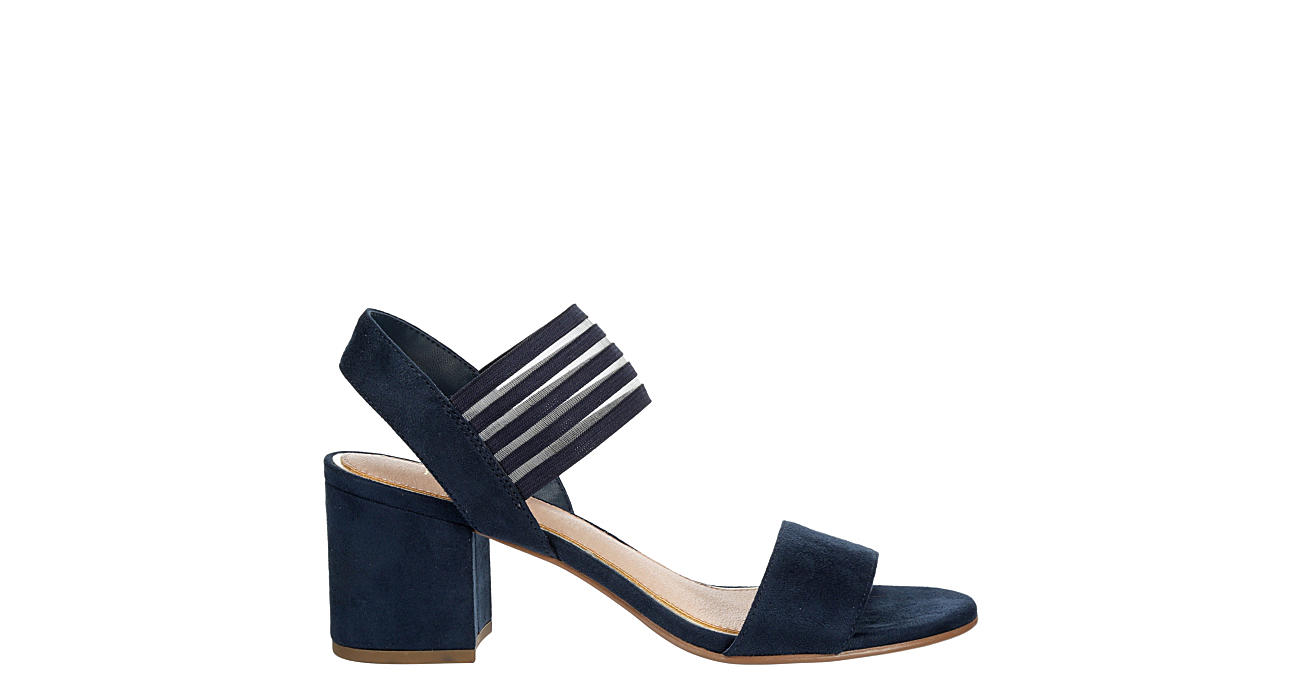 LAUREN BLAKWELL Womens Hannah Dress Sandal - NAVY