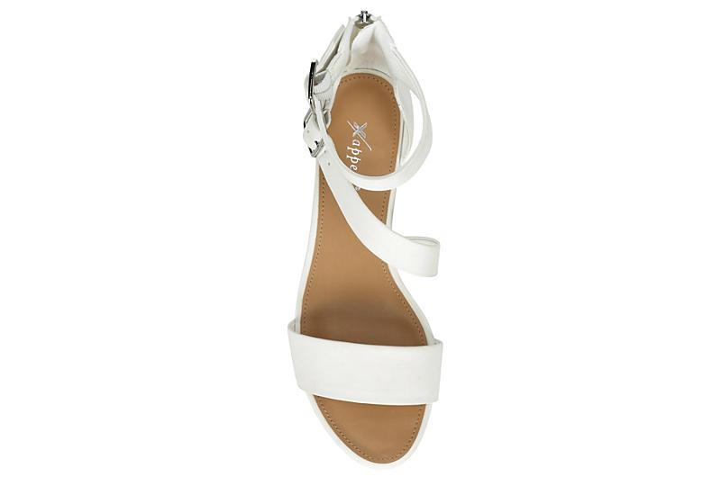 XAPPEAL Womens Danielle Sandal - WHITE