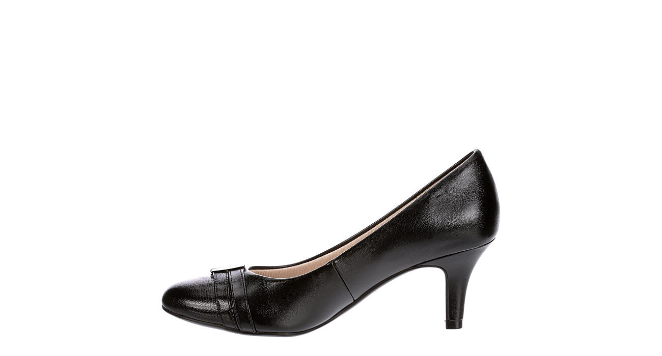 LIFESTRIDE Womens Paisley Pump - BLACK