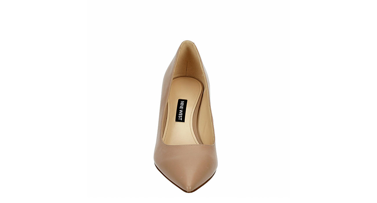 NINE WEST Womens Jolanda Pump - NUDE