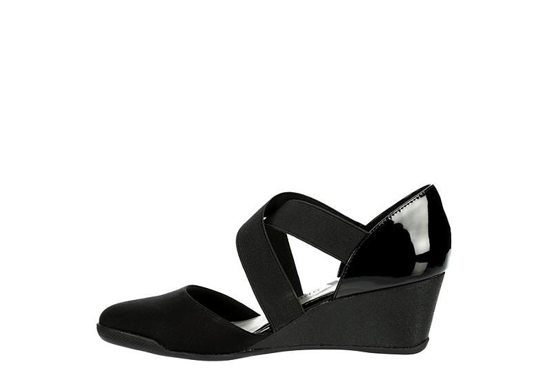 AK SPORT Womens Teaberry Dress Heel - BLACK