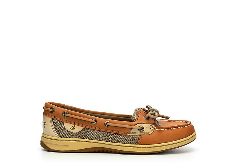 SPERRY Womens Angelfish Boat Shoe - TAN