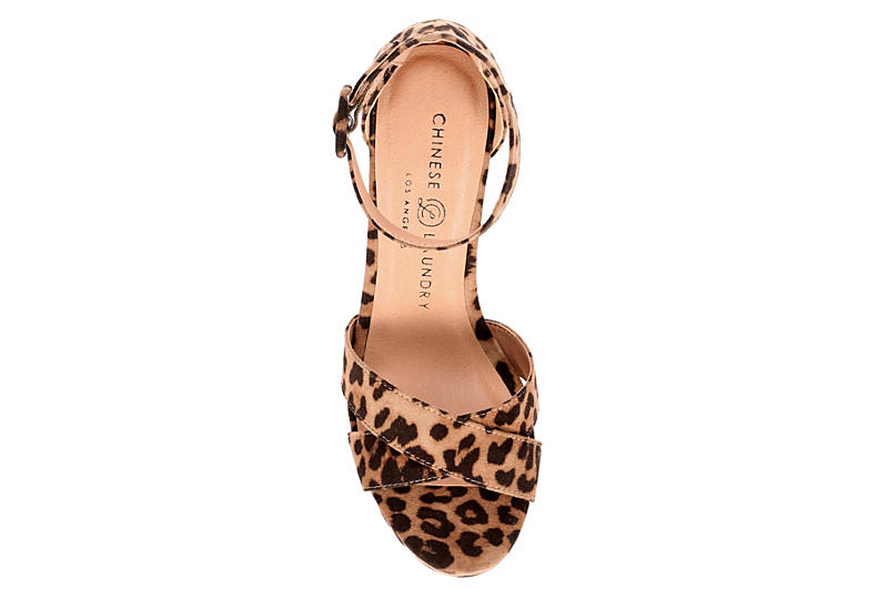 CHINESE LAUNDRY Womens Alpha - LEOPARD