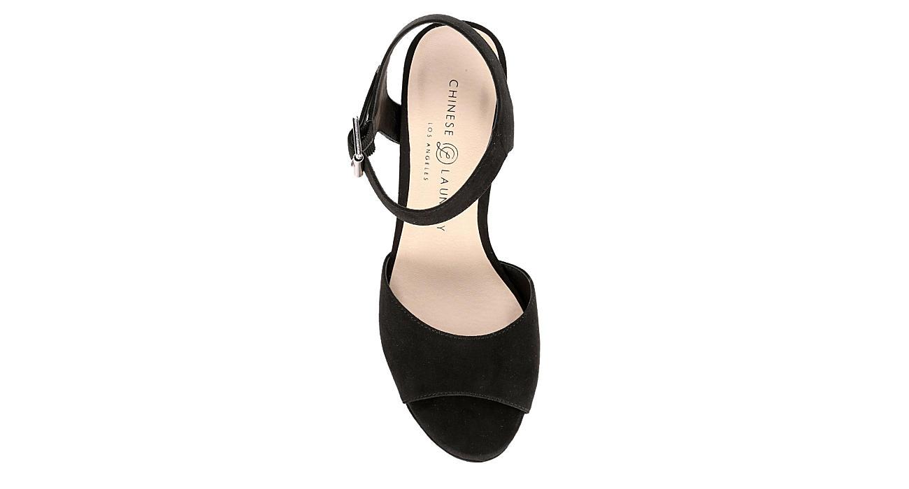 CHINESE LAUNDRY Womens Bianca Dress Heel - BLACK