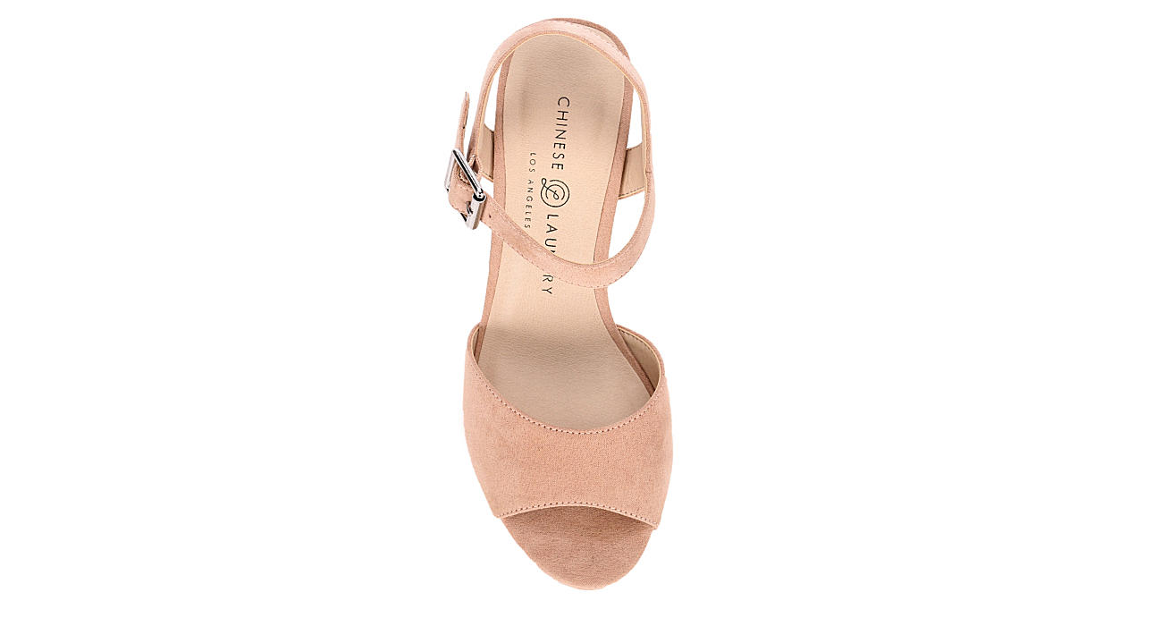 CHINESE LAUNDRY Womens Bianca Dress Heel - BLUSH