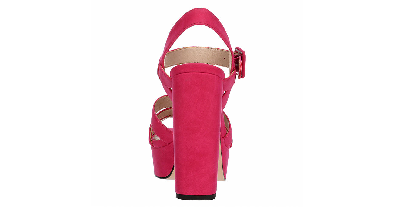 LIMELIGHT Womens Crystal Dress Heel - FUSCHIA