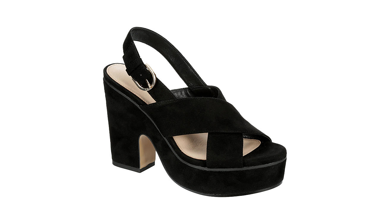 LIMELIGHT Womens Heather Dress Heel - BLACK