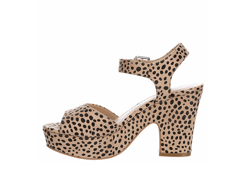 CHINESE LAUNDRY Womens Bianca - LEOPARD