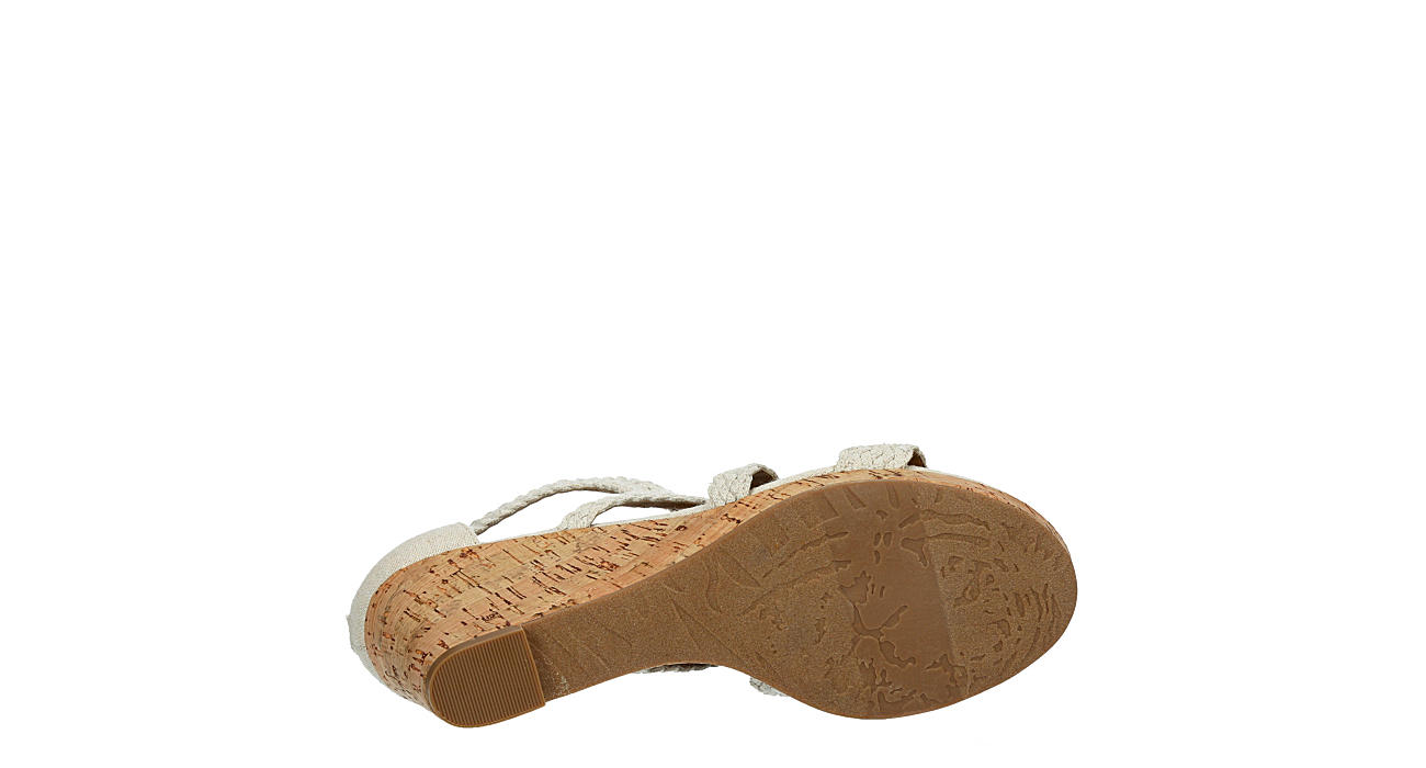 XAPPEAL Womens Mellie Wedge Sandal - NATURAL