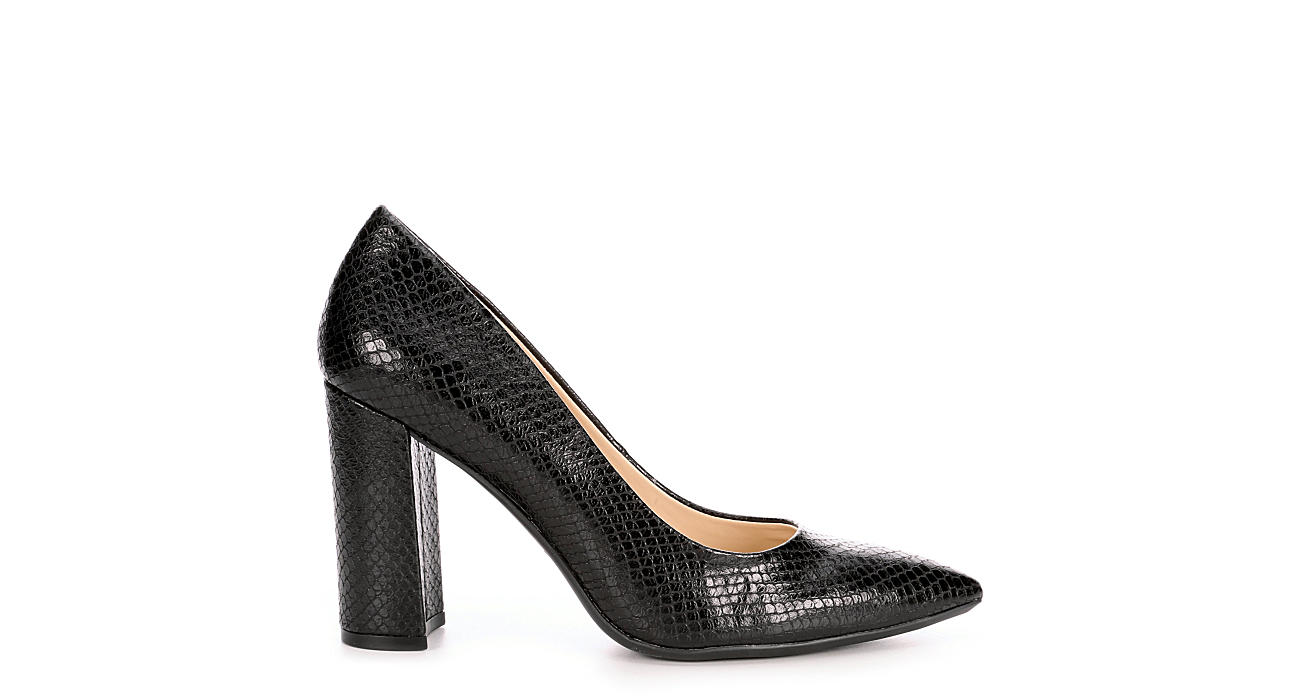 NINE WEST Womens Avana - BLACK
