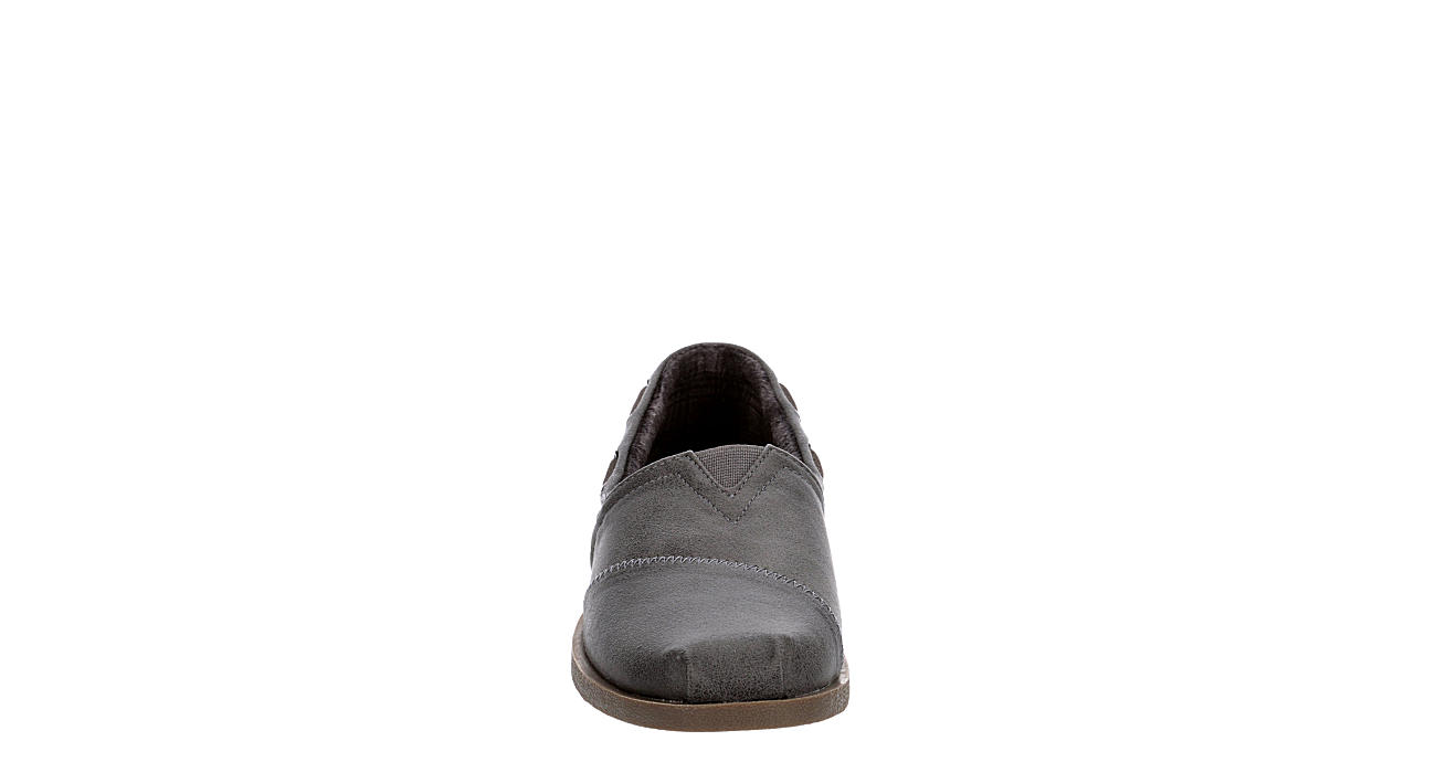 SKECHERS BOBS Womens Chill Luxe Buttoned Up - GREY