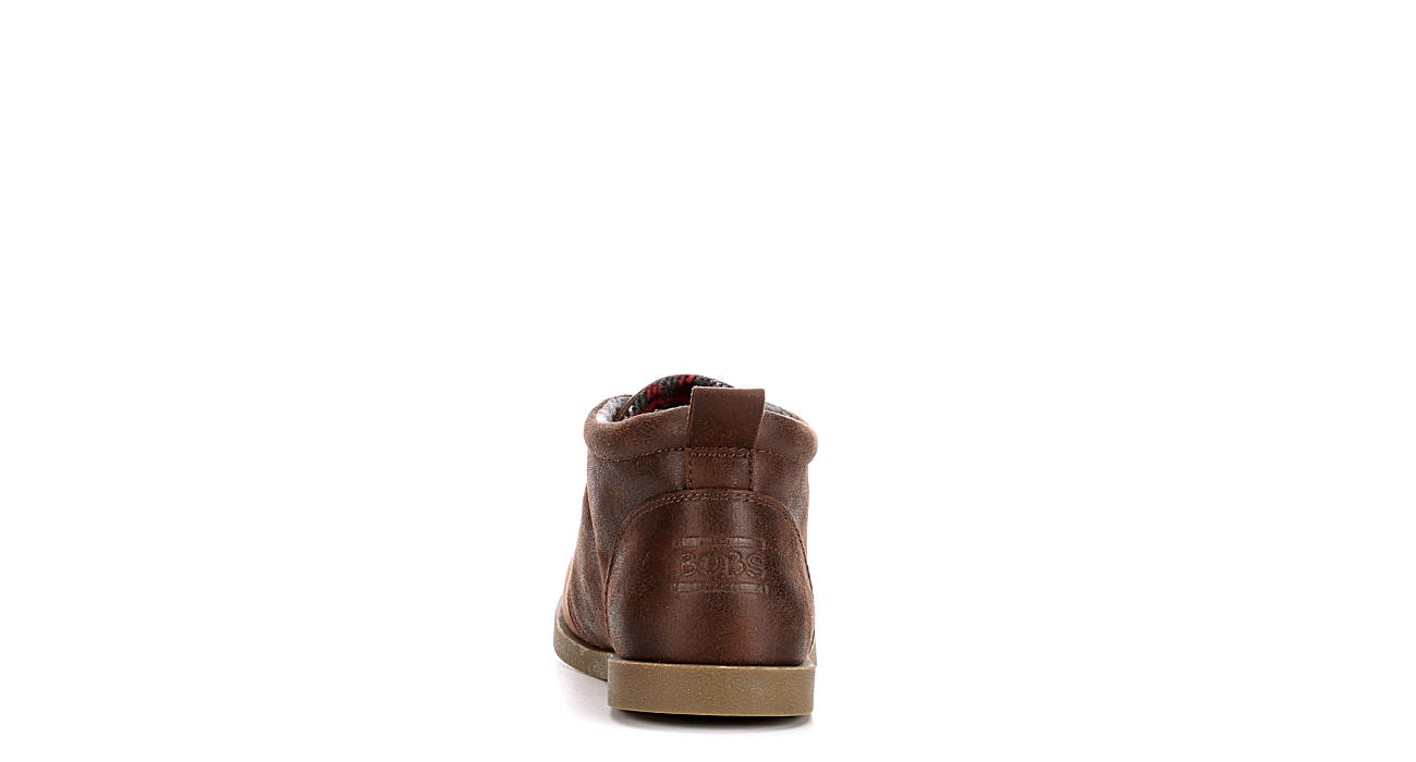 SKECHERS BOBS Womens Chill Luxe Drifting - BROWN
