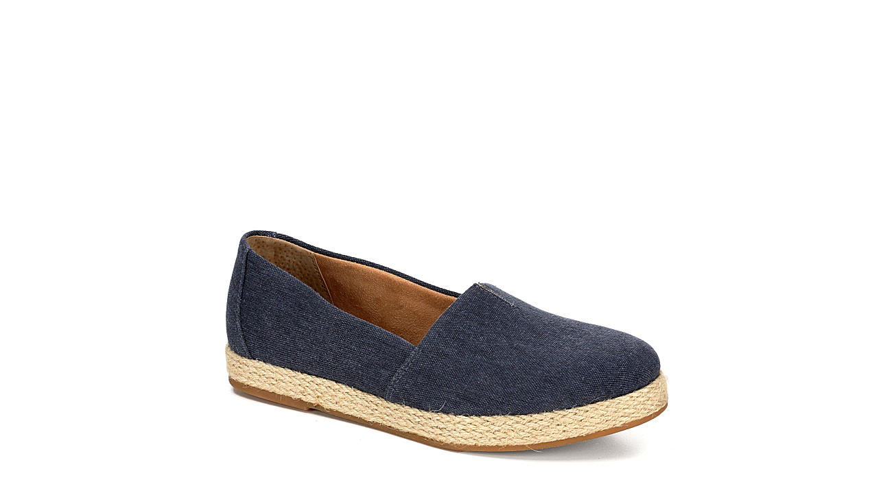 B.O.C Womens Weems Flat - NAVY