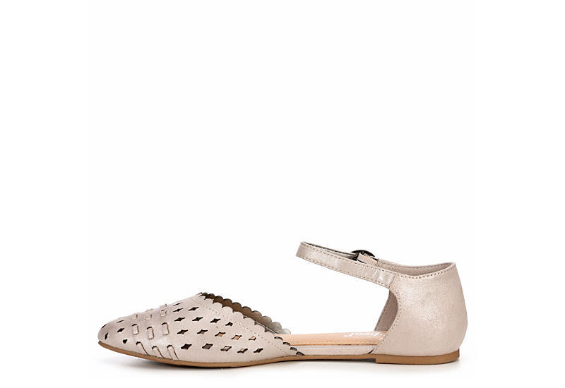 XAPPEAL Womens Alina Flat - SILVER