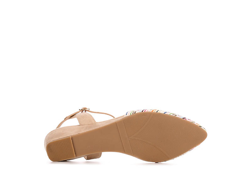 CL BY LAUNDRY Womens Guilty Flat - MULTICOLOR
