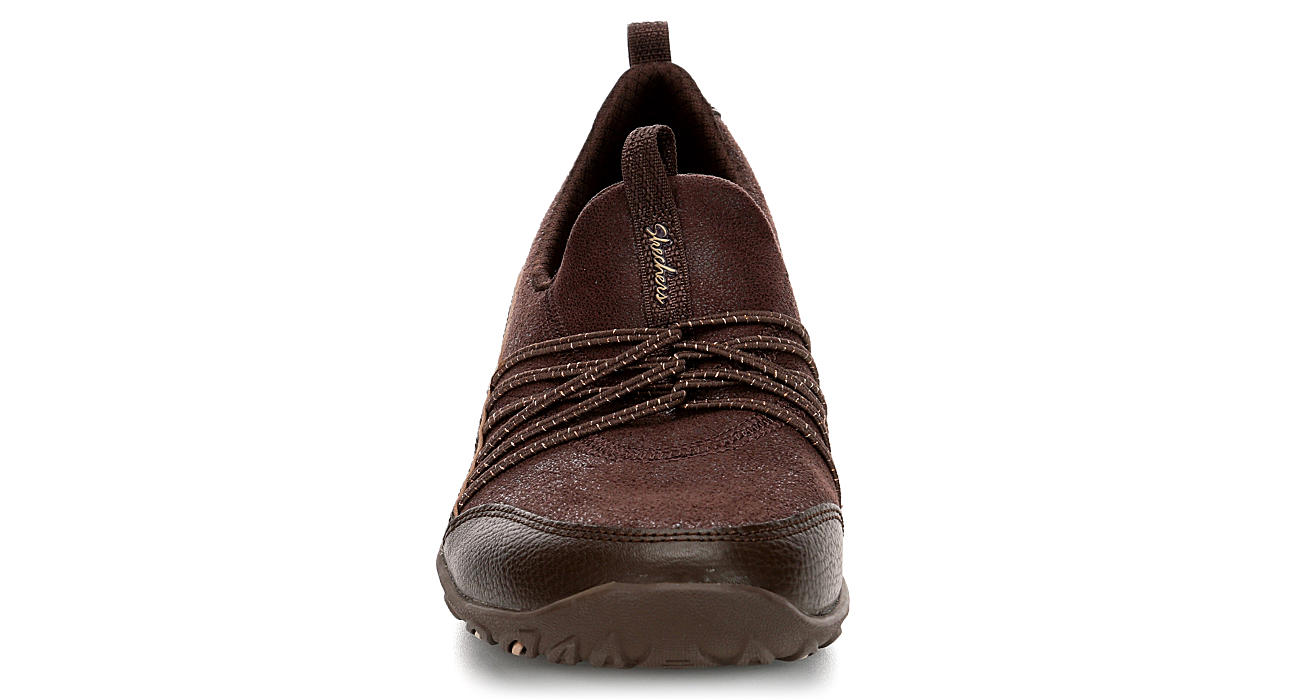 SKECHERS Womens Lets Be Real - CHOCOLATE