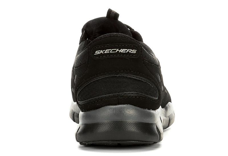 Skechers Sport-Active Womens Full Circle Slip On Sneaker - BLACK
