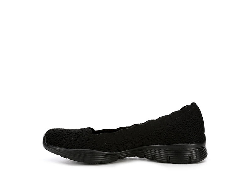 SKECHERS Womens Seager Infield - BLACK