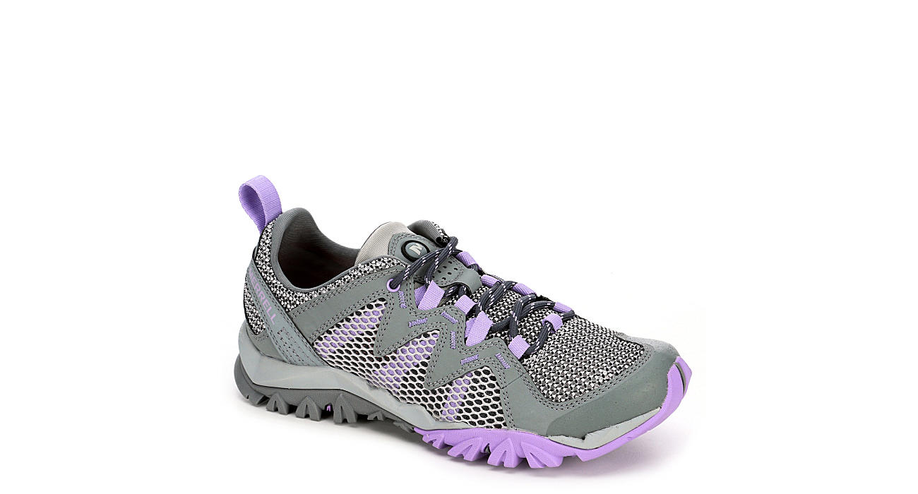 MERRELL Womens Tetrex Rapid Hiking Boot - GREY