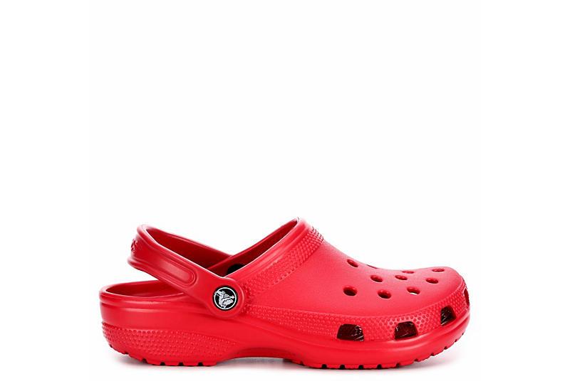 CROCS Womens Classic Clog - RED