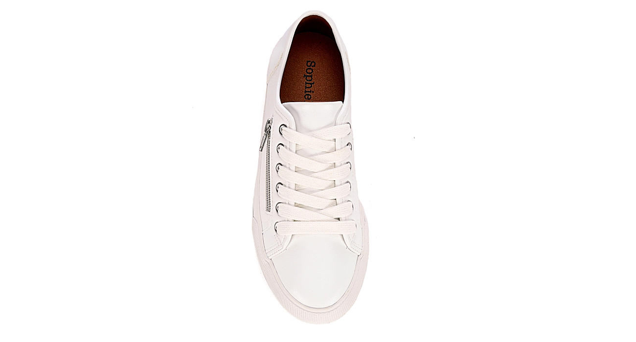 SOPHIE17 Womens Brooklyn Sneaker - WHITE