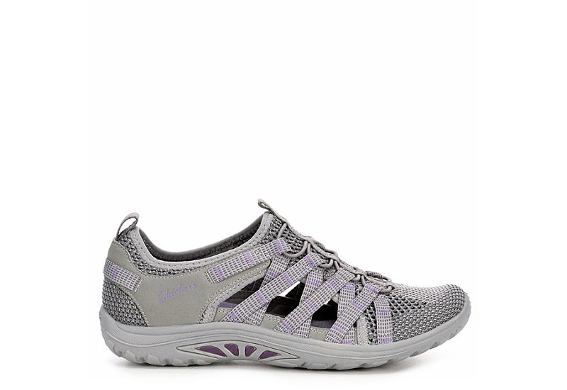 SKECHERS Womens Reggae Fest Neap - GREY