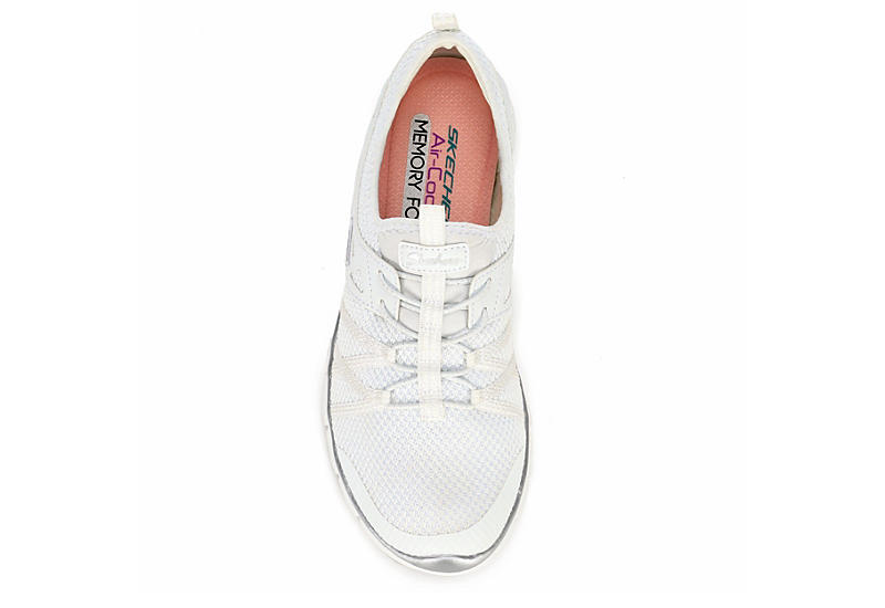 Skechers Sport-Active Womens Gratis What A Sight - WHITE