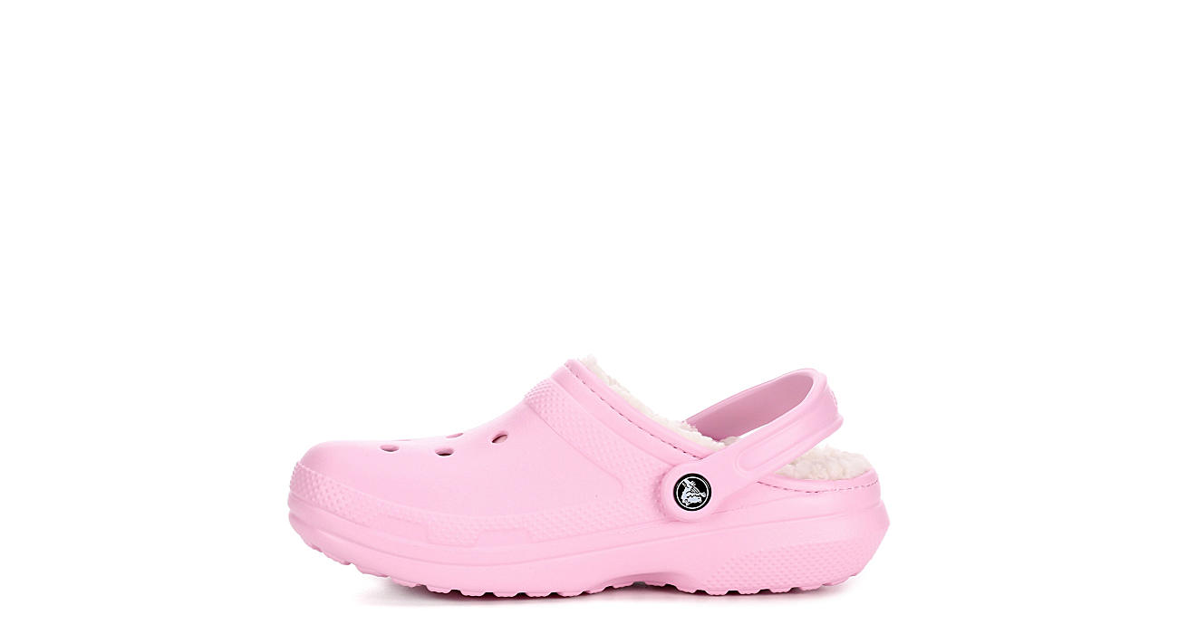 CROCS Womens Classic Lined Clog - BLUSH