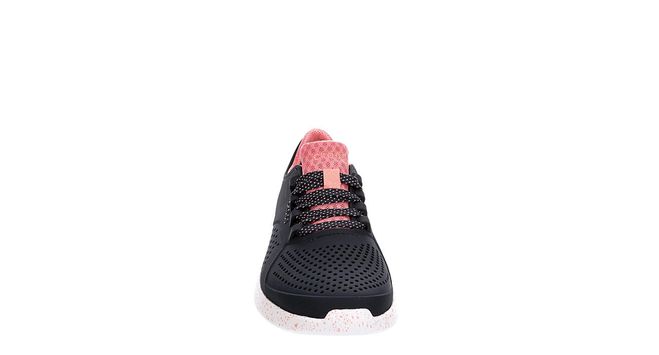 CROCS Womens Pacer Lace Up - NAVY