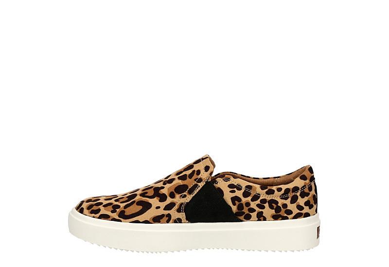DR. SCHOLL'S Womens Wander Up Slip On Sneaker - LEOPARD