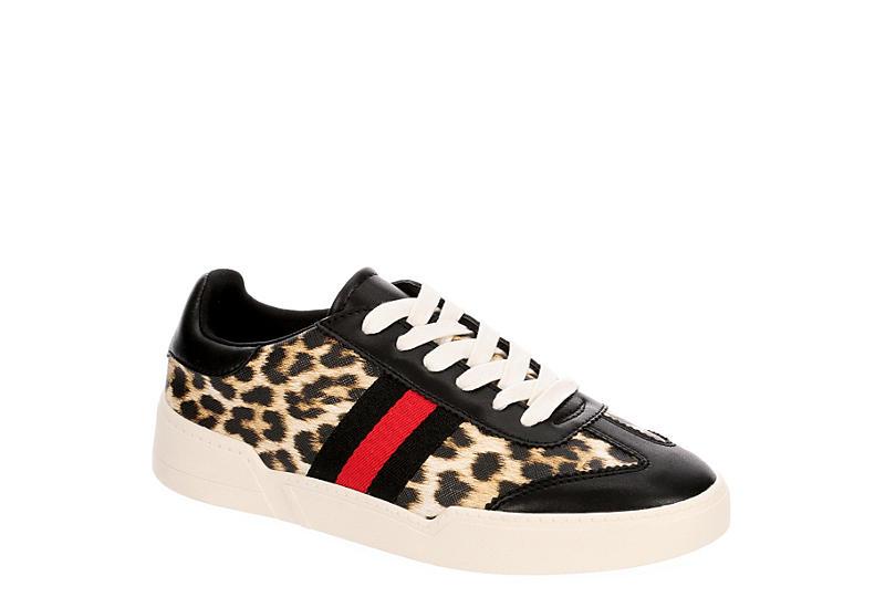 MADDEN GIRL Womens Fiona Sneaker - LEOPARD