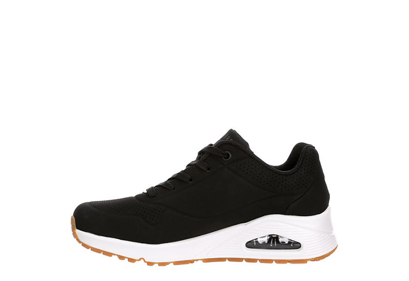 SKECHERS Womens Uno Stand On Air - BLACK