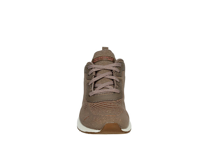 SKECHERS BOBS Womens Squad Glam League - TAUPE