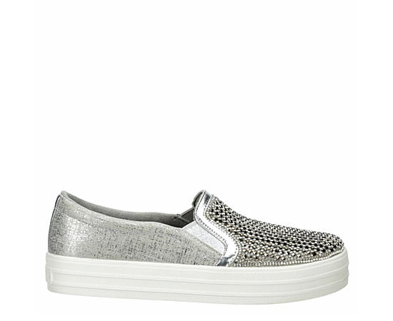 Womens Diamond Eyez Slip On Sneaker