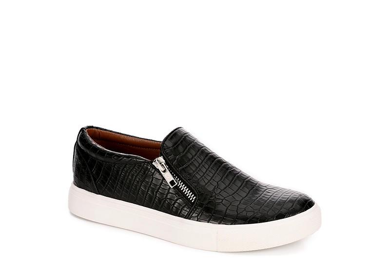 REPORT Womens Annora Slip On Sneaker - BLACK