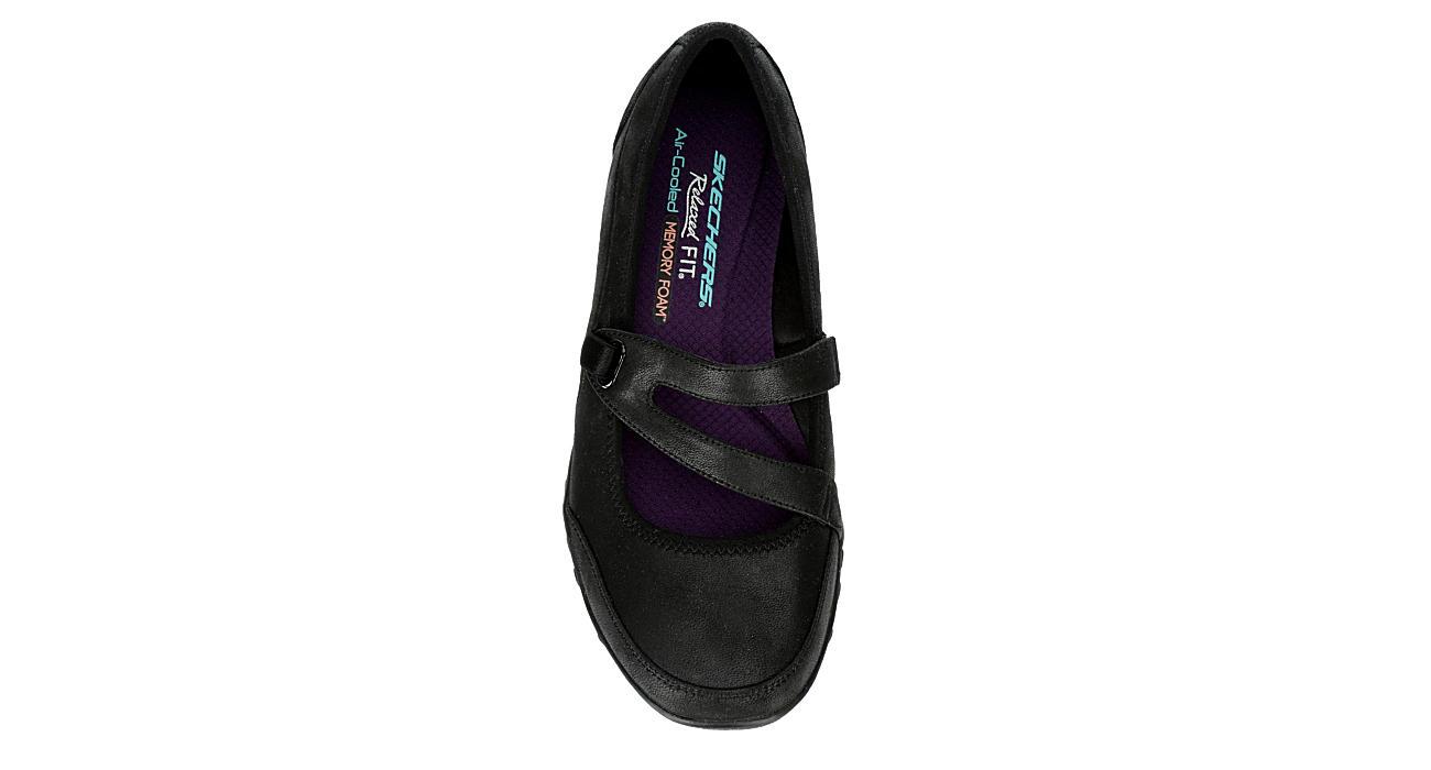Skechers Womens Breathe easy Calmly Black