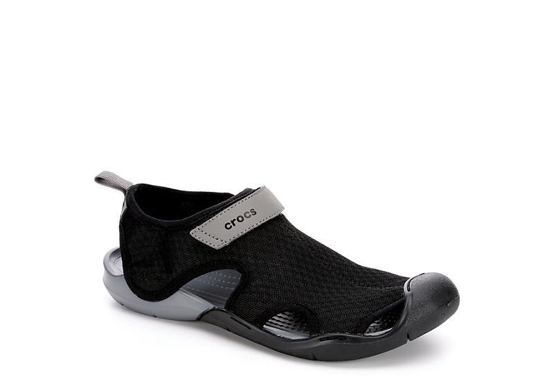 dc93fa701fb Crocs Womens Swiftwater Mesh Sandal.  29.99. BLACK