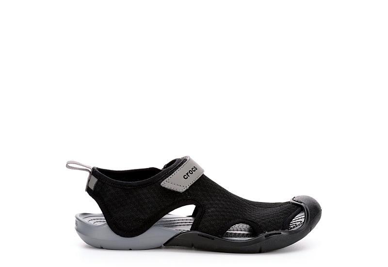80fce3e5da Crocs Womens Swiftwater Mesh Sandal - Black.  29.99 SALE