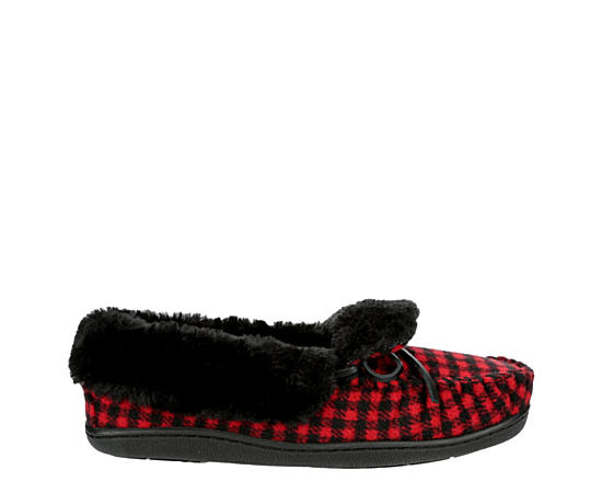 Womens Tessie Fabric Trapper Slipper