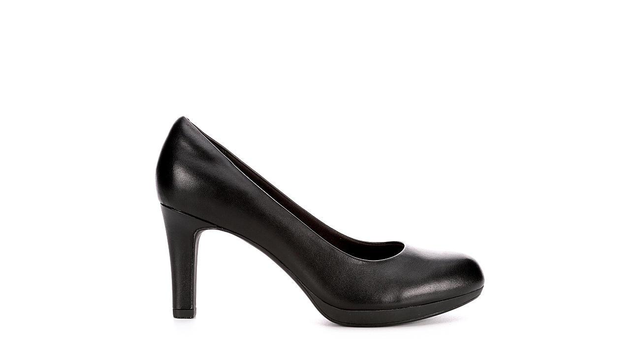 CLARKS Womens Adriel Viola Pump - BLACK