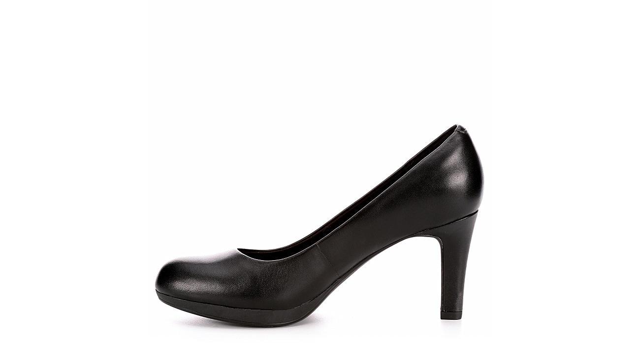 CLARKS Womens Adriel Viola - BLACK