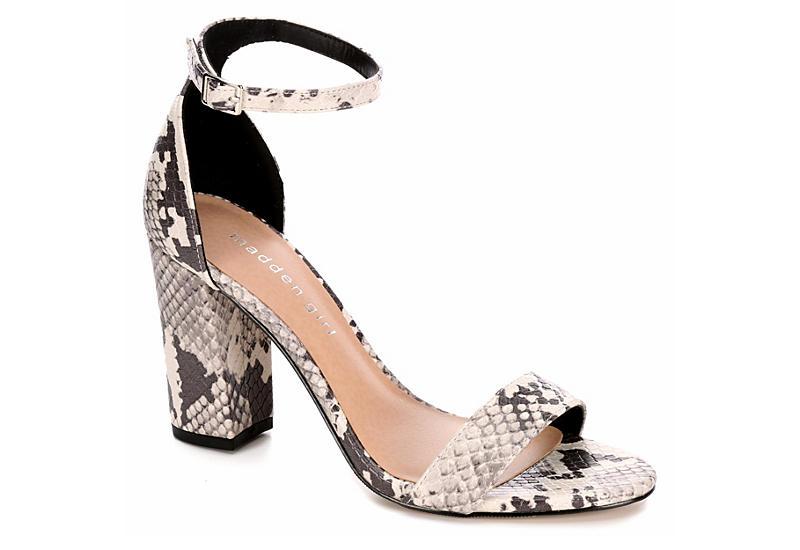 8d388e3edd66 Snakeskin Madden Girl Beella Womens Dress Heels
