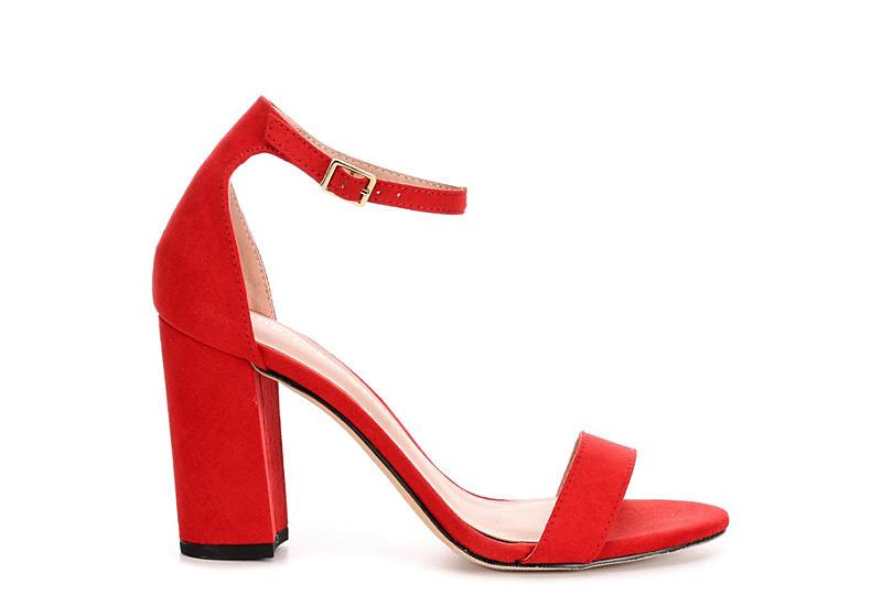 dfc97cf3662 Red Madden Girl Beella Block Heel Dress Sandals