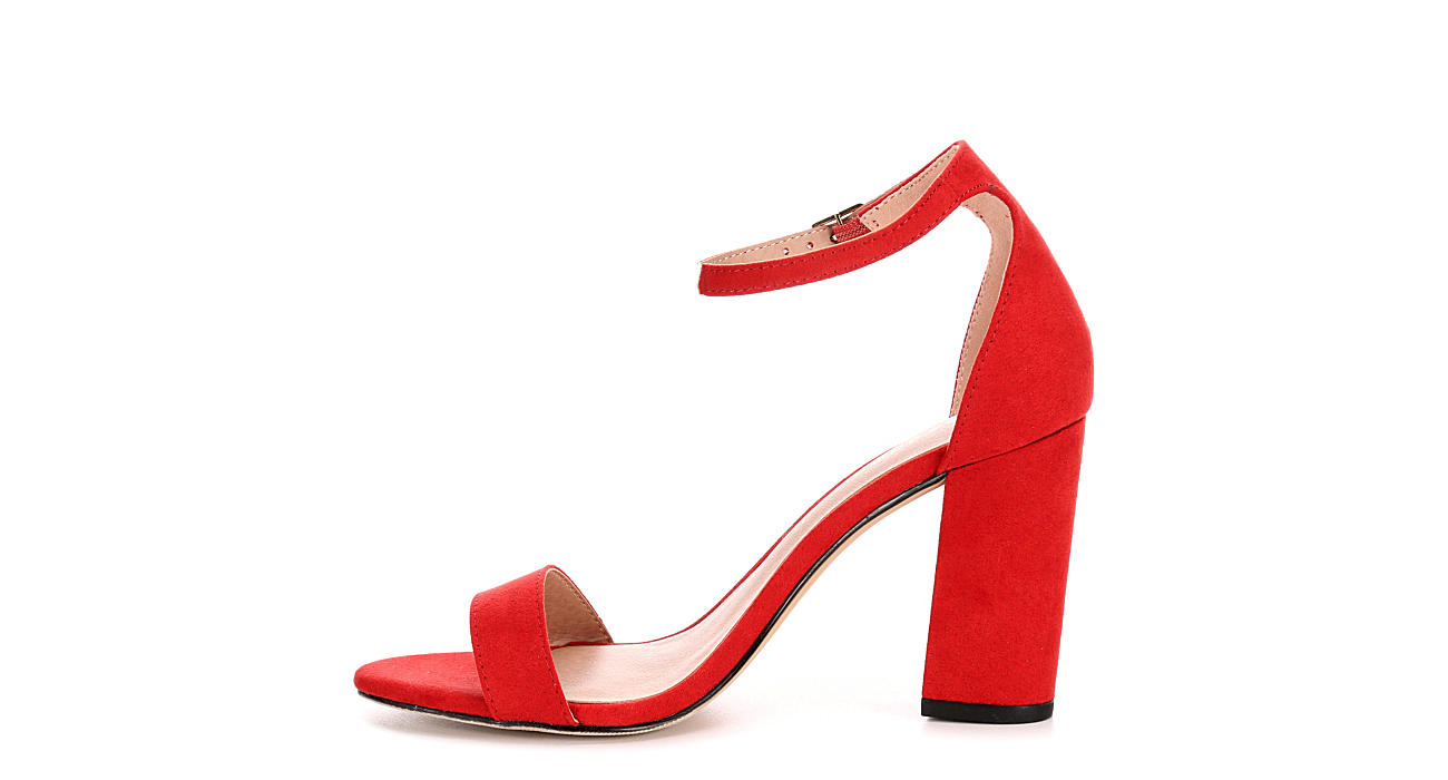 6e4878056b4b Red Madden Girl Beella Block Heel Dress Sandals