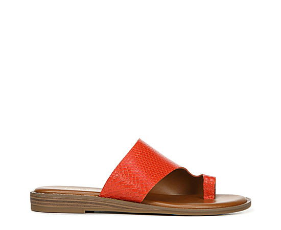 Womens Gem Casual Flat Slide Sandal