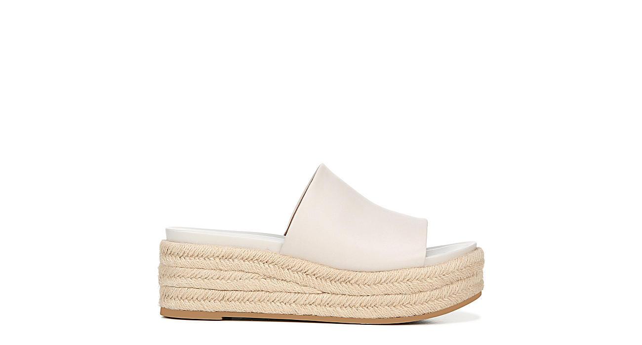 FRANCO SARTO Womens Tola Platform Sandal - OFF WHITE